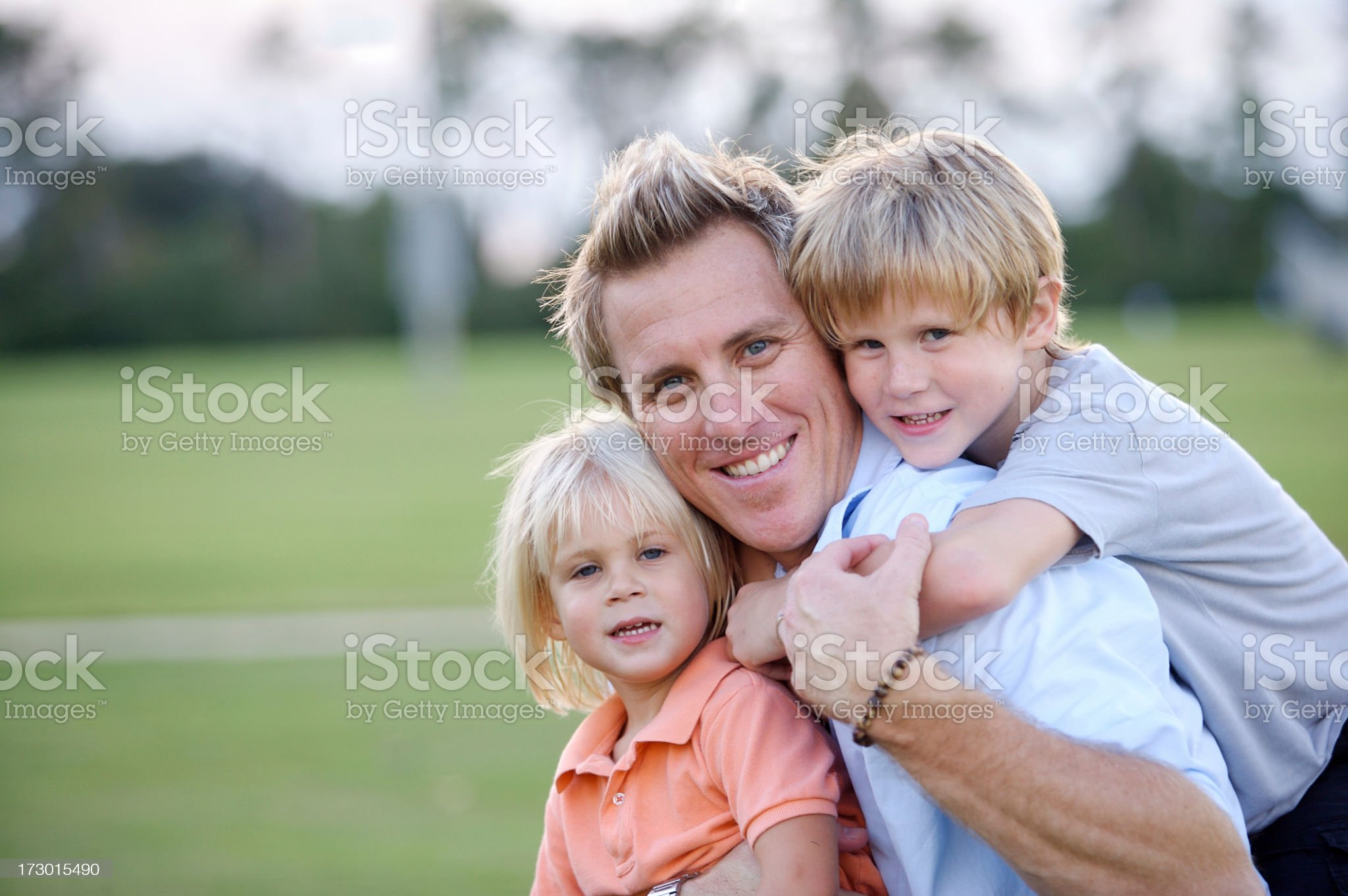 Father family time royalty-free stock photo