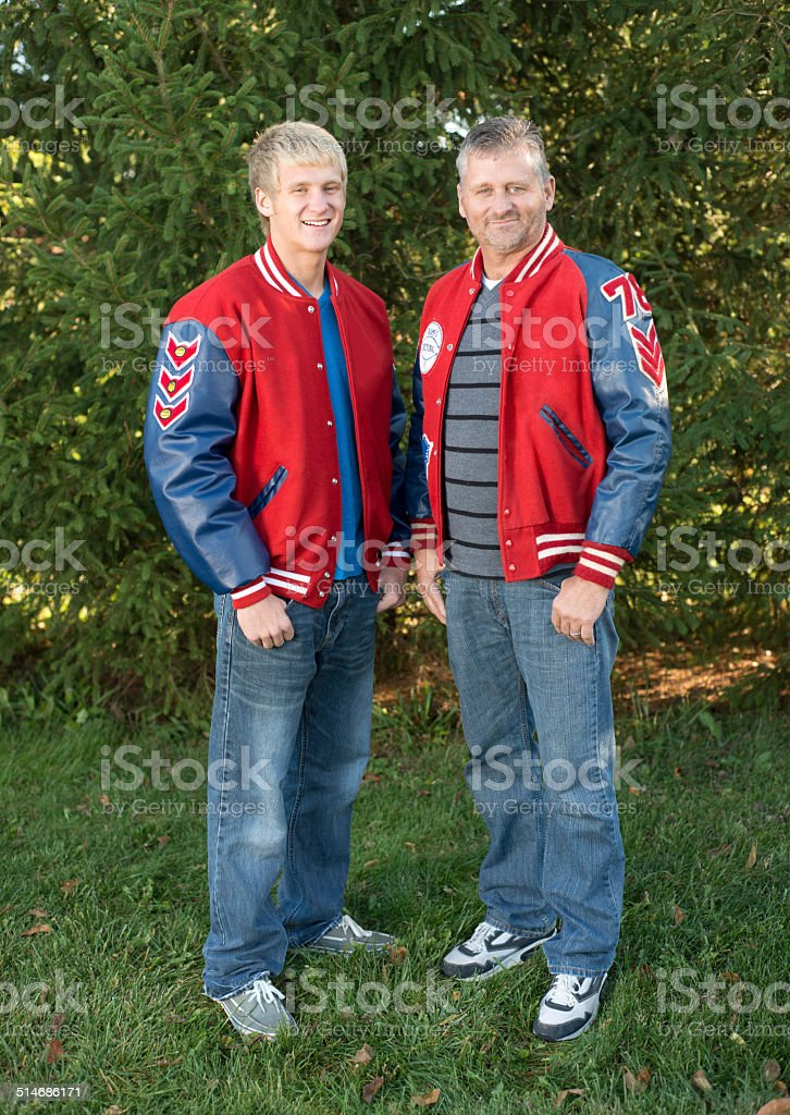 Father like Son stock photo