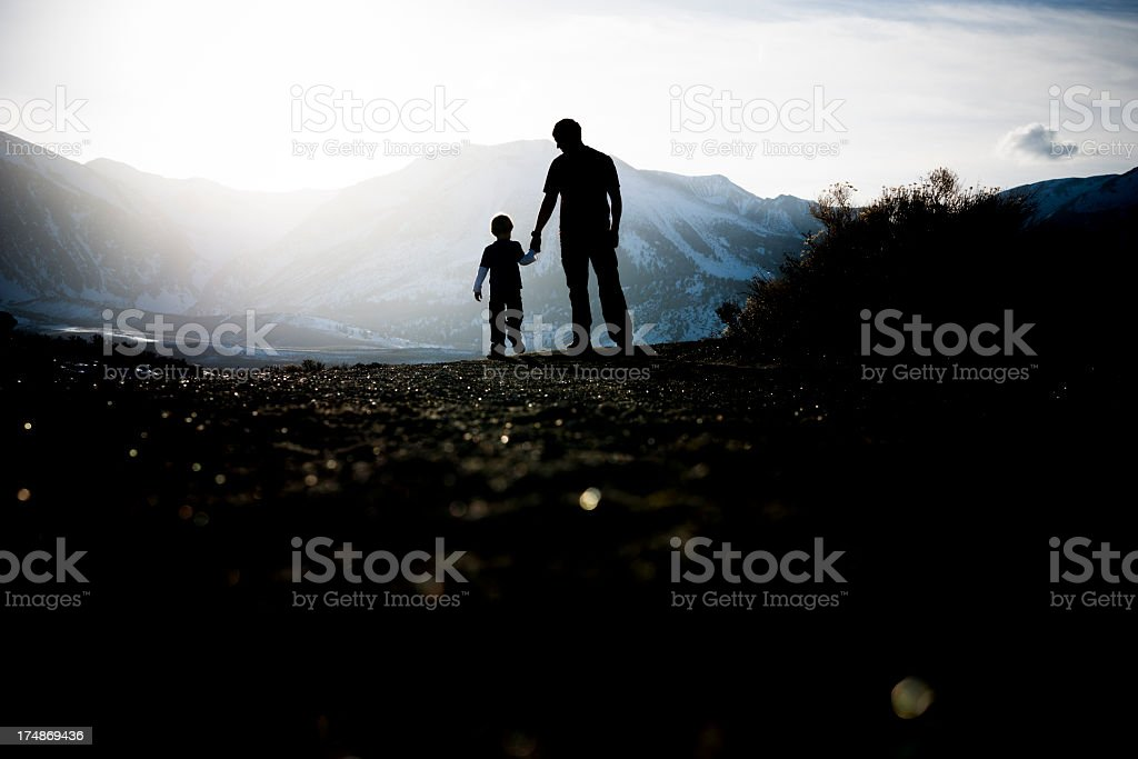 father stock photo