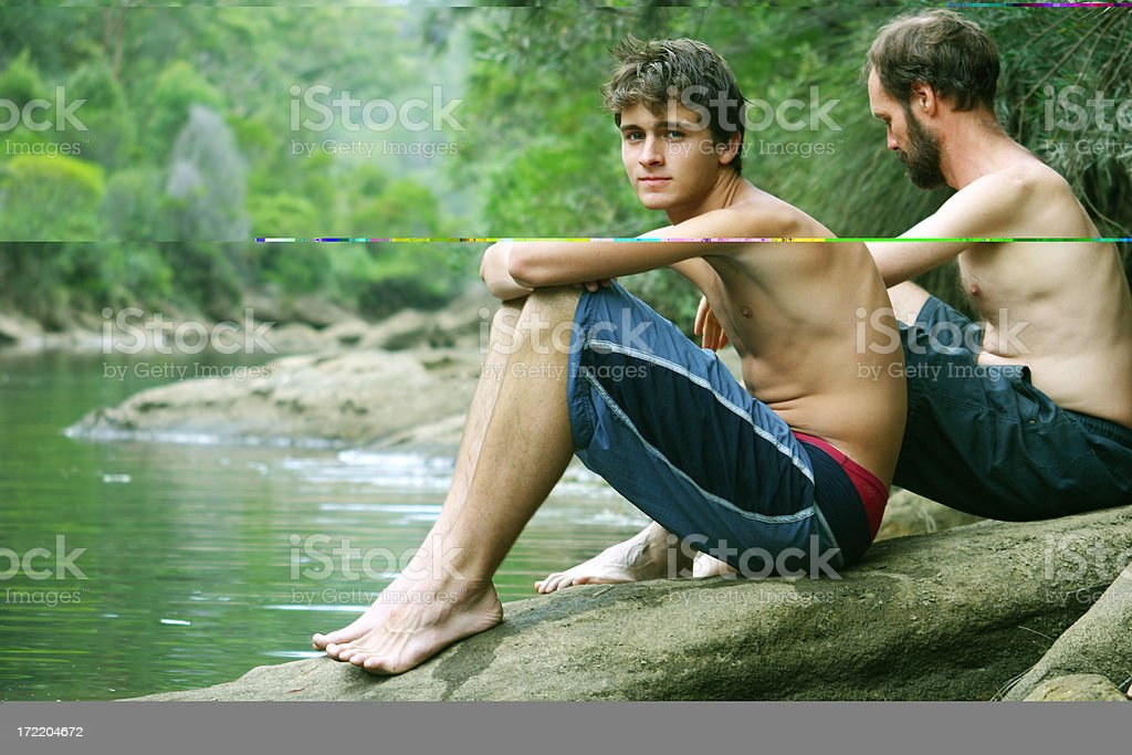 Father & Son (3) royalty-free stock photo