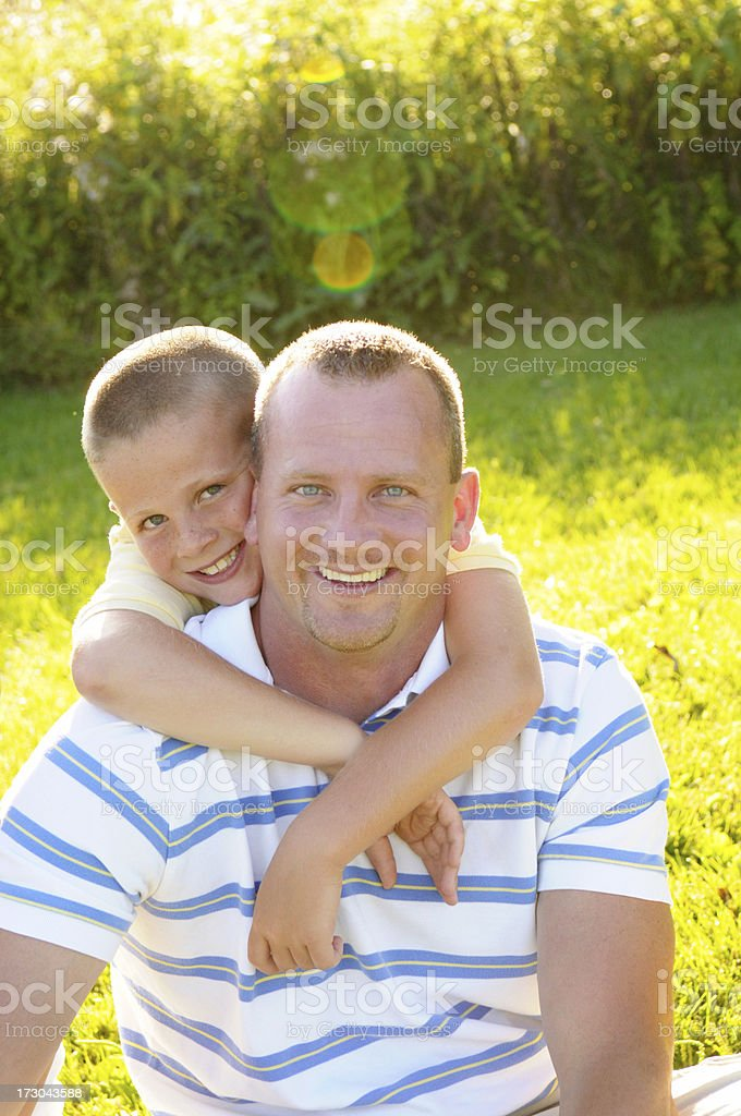 Father & Son royalty-free stock photo