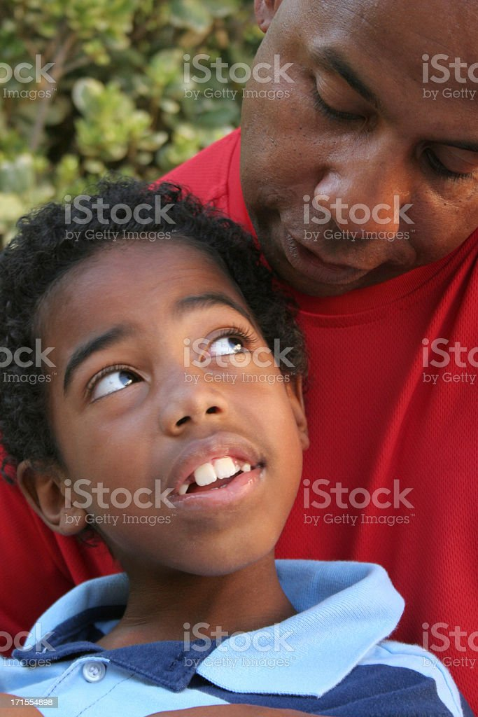 Father & Son Series royalty-free stock photo