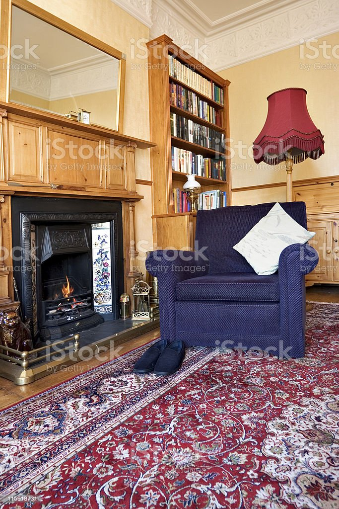 Father's Chair royalty-free stock photo