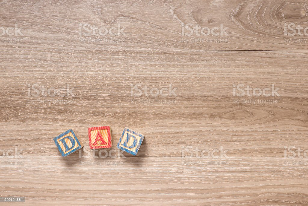 Fathers Day Background stock photo