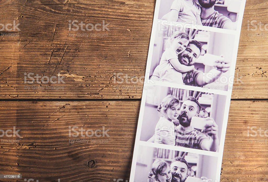 Fathers day composition stock photo