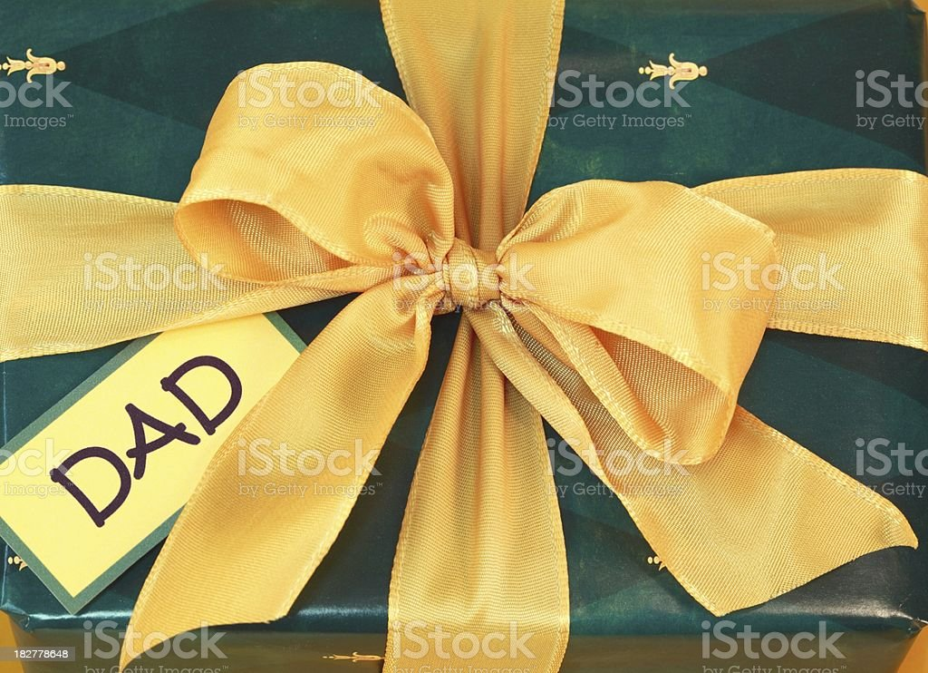 Father's Day Gift for Dad stock photo