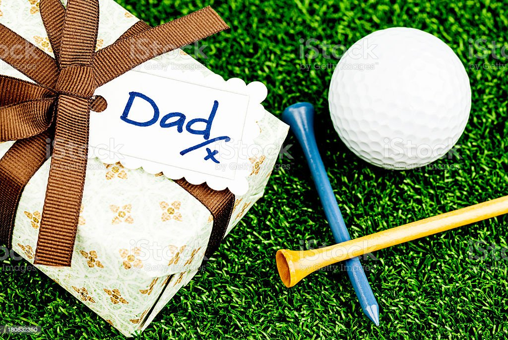 Father's Day Gift for the Golfer stock photo