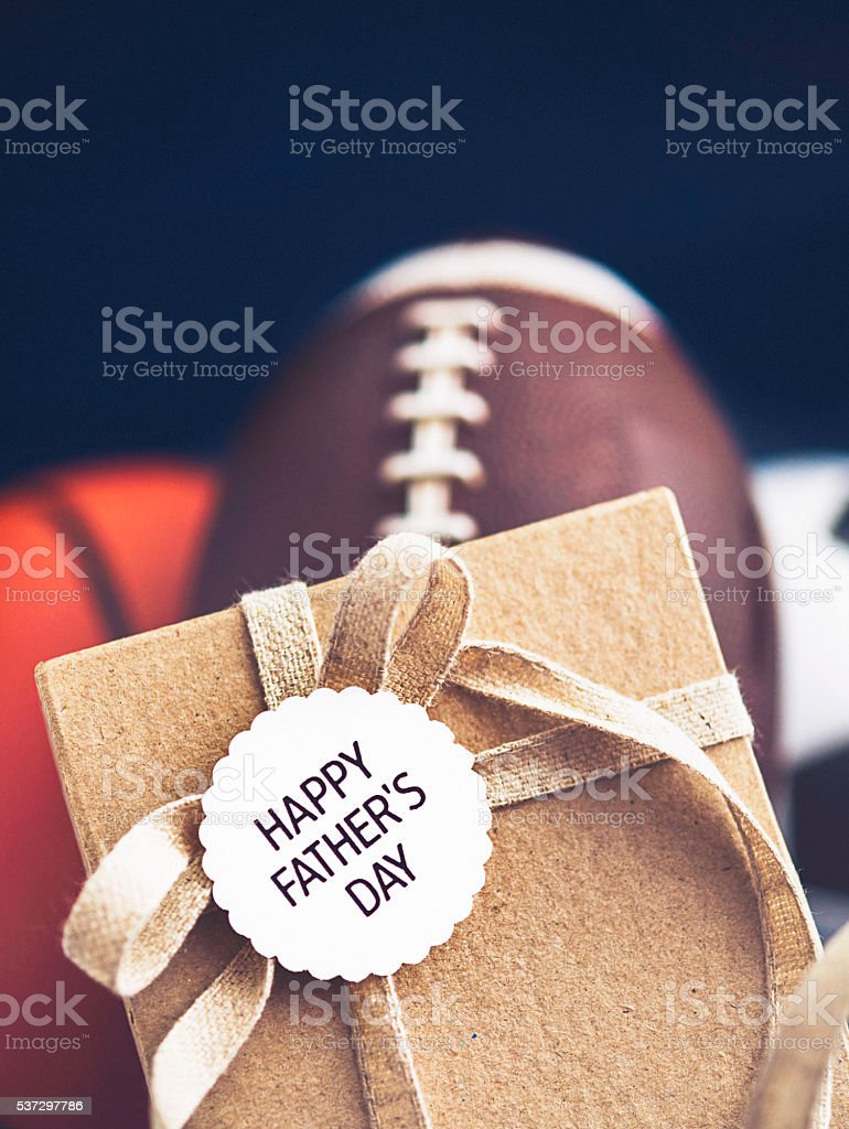 Father's Day gift for the sports loving dad stock photo
