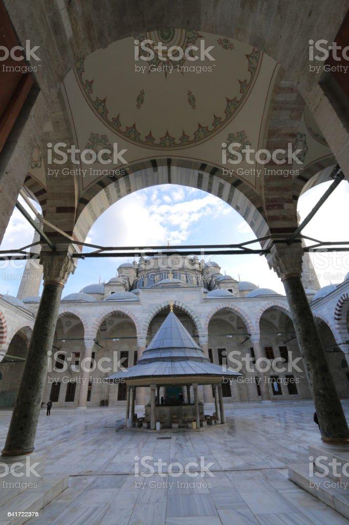 Fatih Mosque stock photo