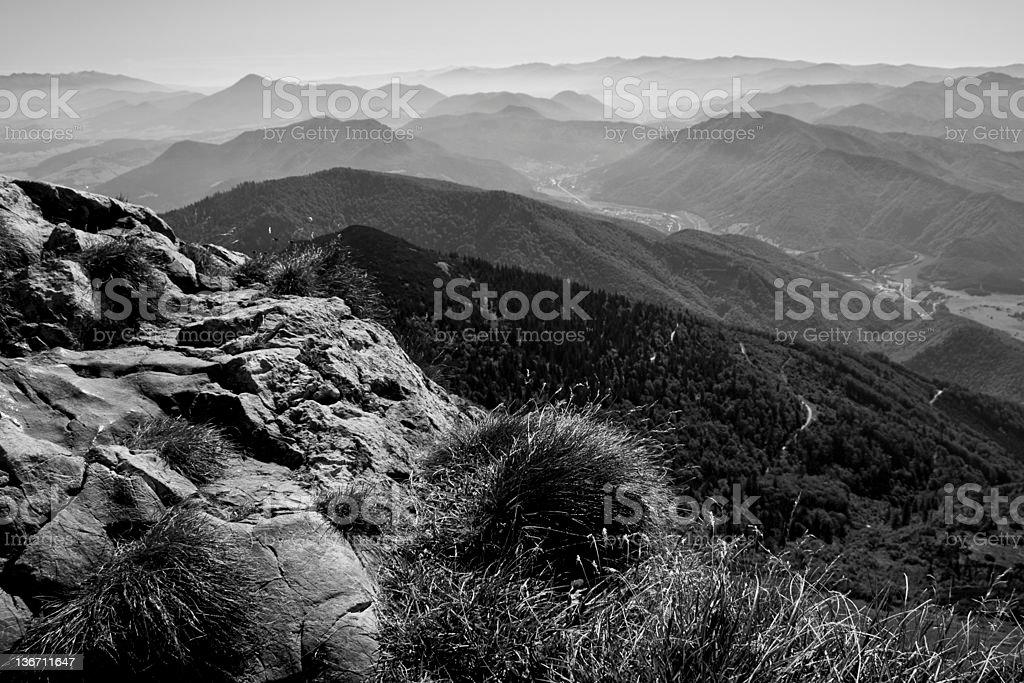 Fatra mountains stock photo