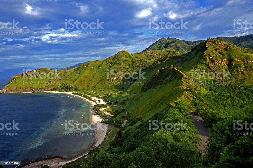 Fatucama Cristo Rei, Timor Leste stock photo