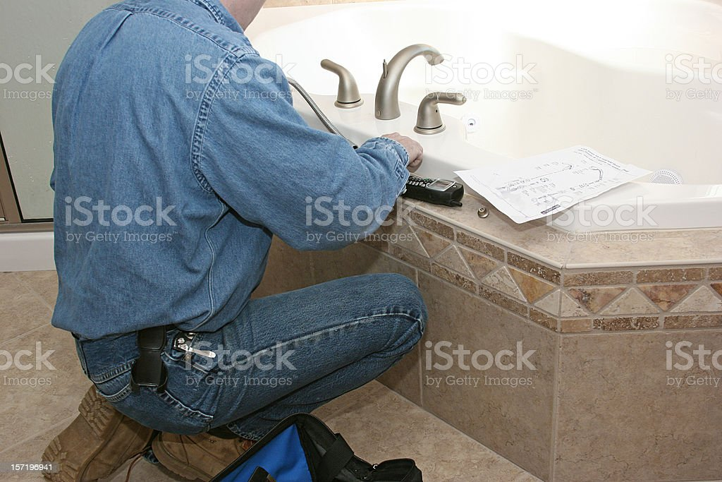 Faucet Fix stock photo