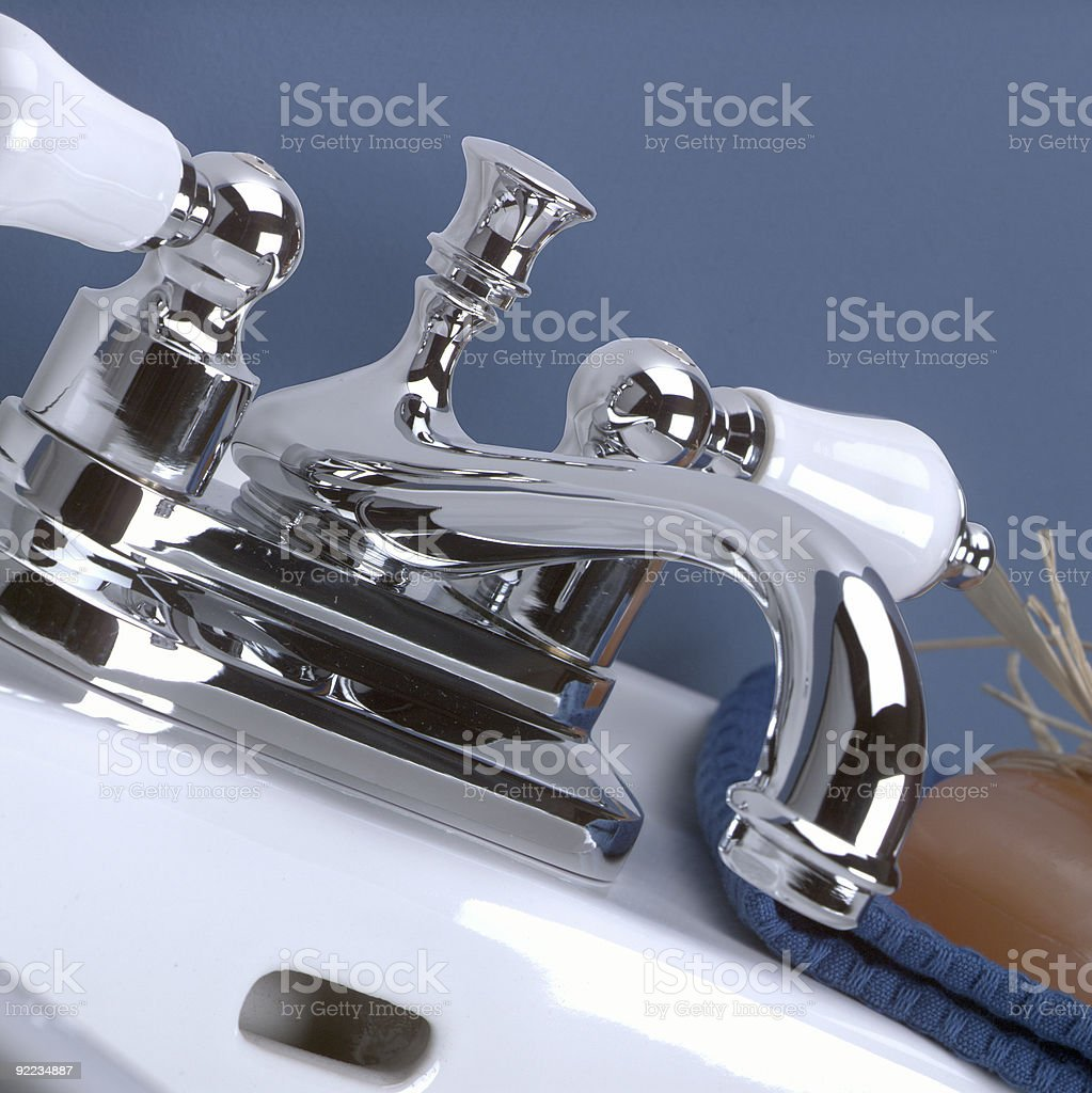 Faucet royalty-free stock photo
