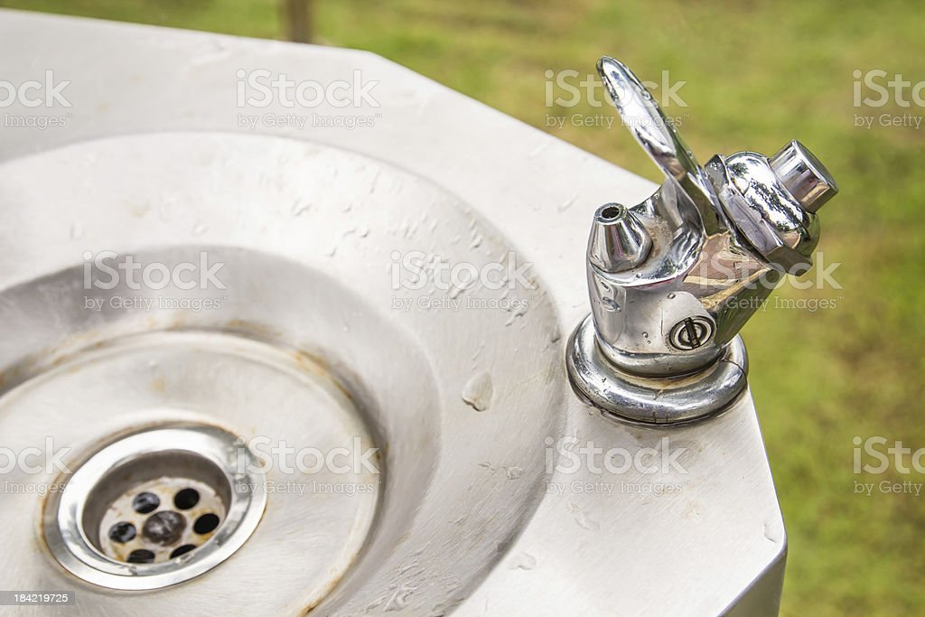 Faucet stainless royalty-free stock photo