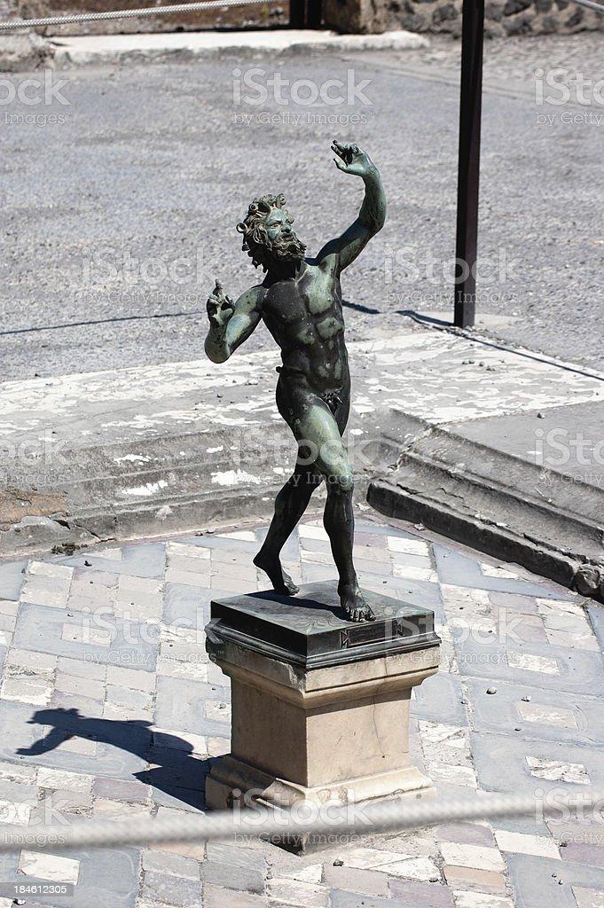 Fauno - Pompei stock photo