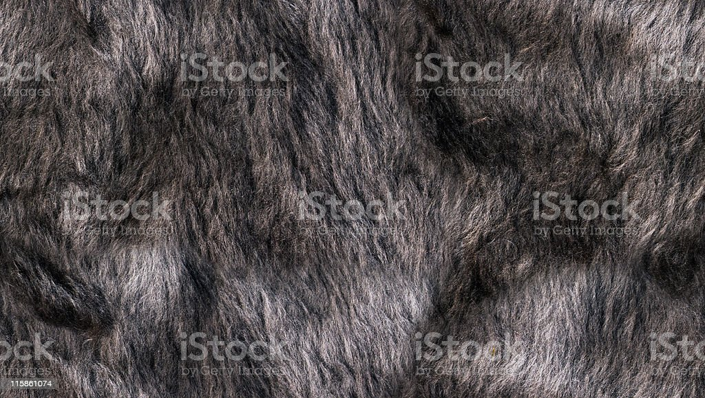 Faux Fur (Seamless Tile) royalty-free stock photo