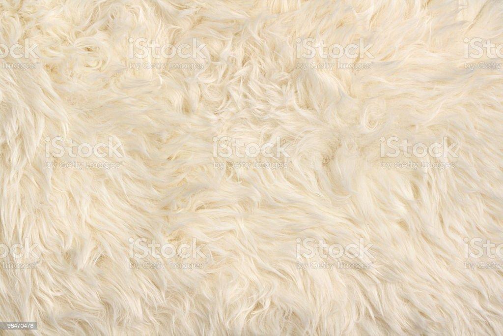 Faux fur rag pattern stock photo