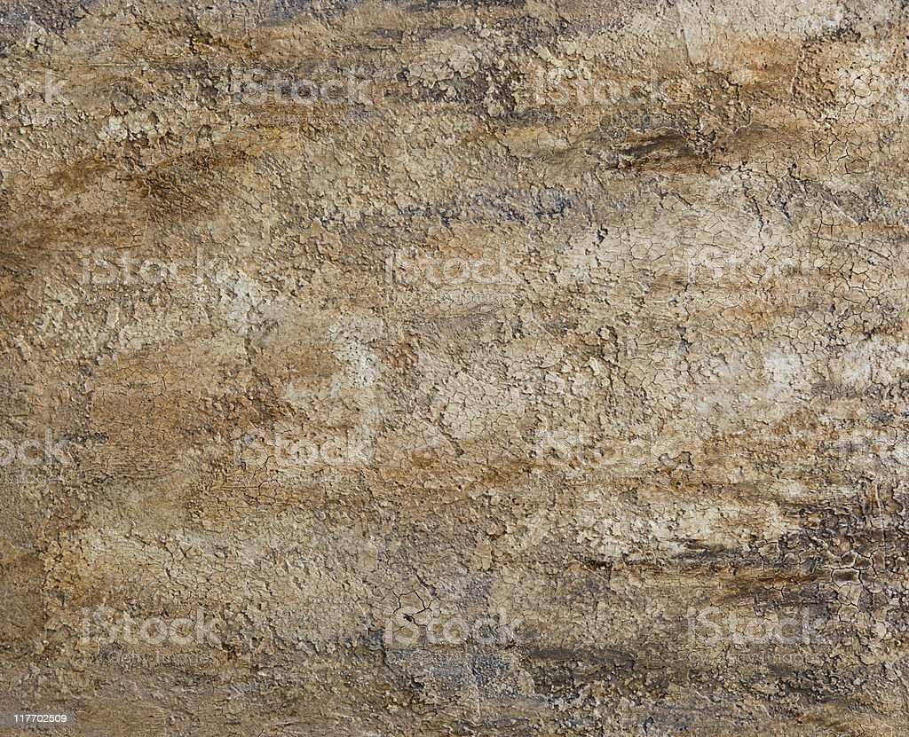Faux painted and textured stucco wall royalty-free stock photo