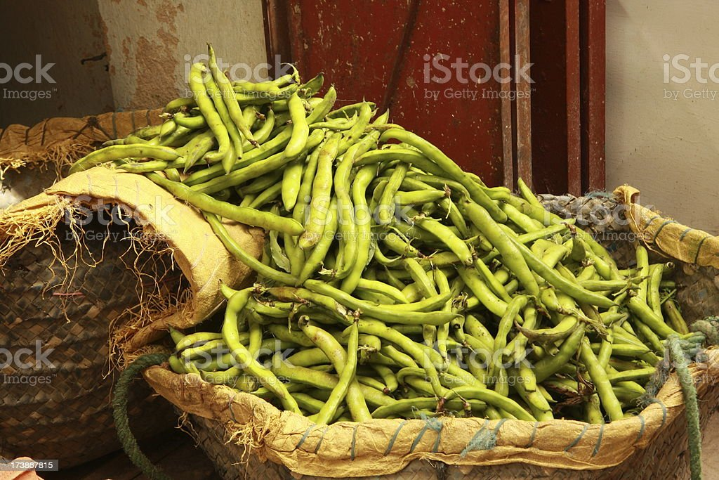 fava beans for sale royalty-free stock photo
