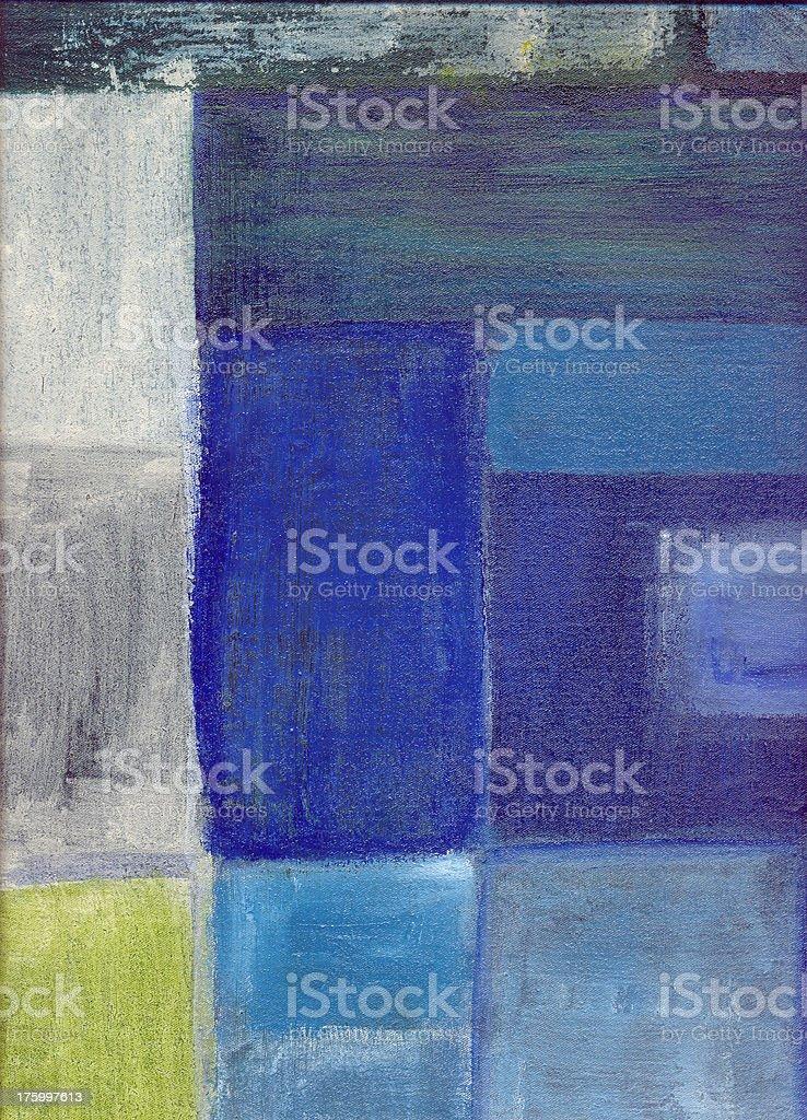 Favela blue stock photo