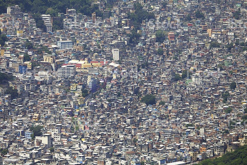 Favela da Rocinha stock photo