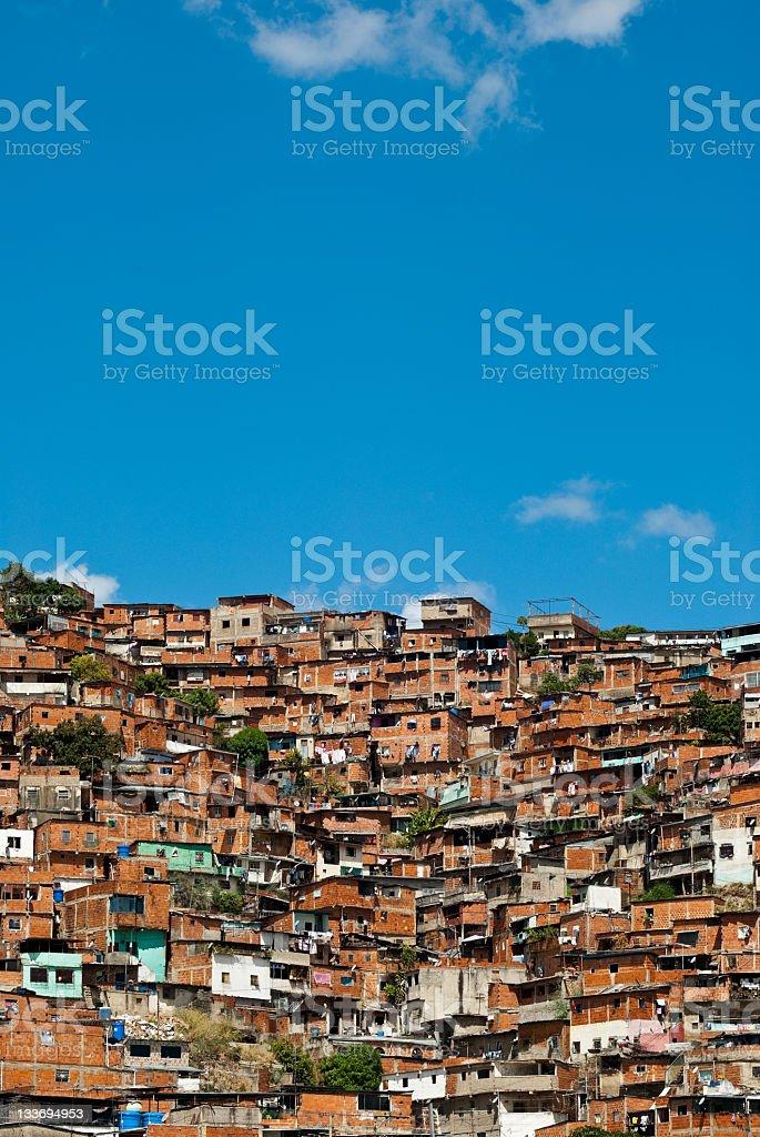 Favela royalty-free stock photo
