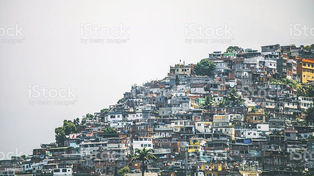 Favela. stock photo