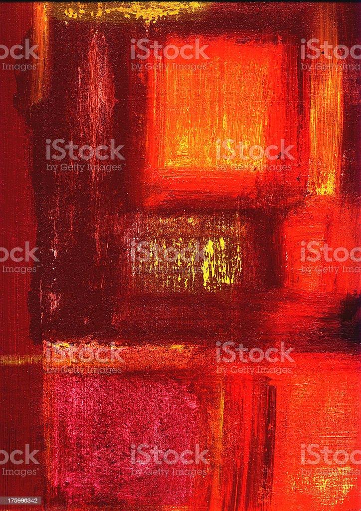 favela red stock photo