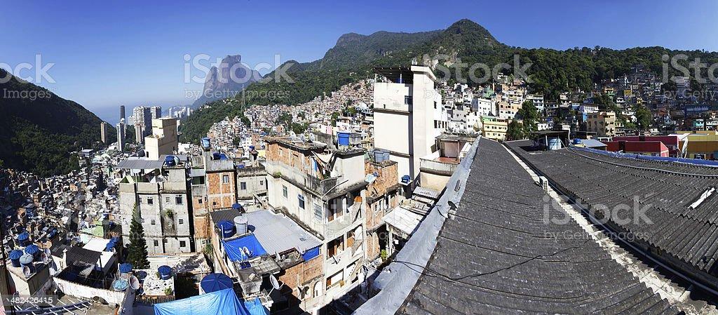 Favela Rocinha royalty-free stock photo