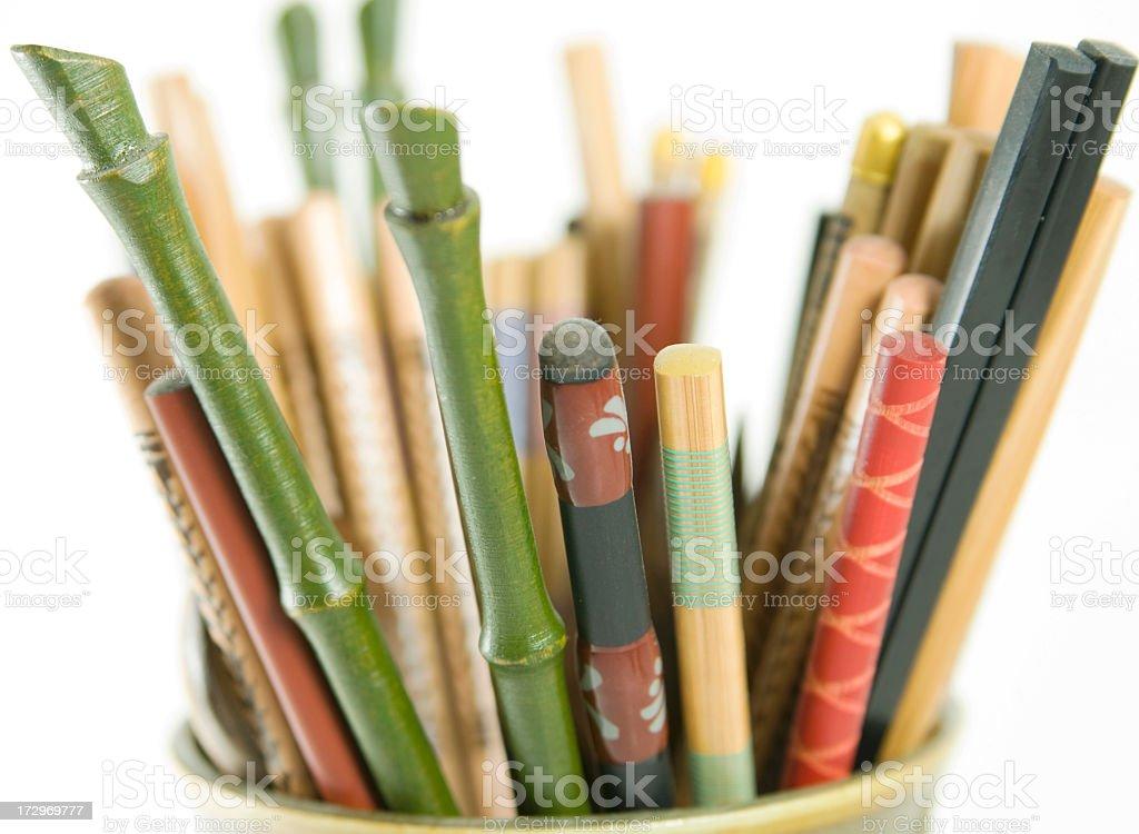 Favorite Chopsticks royalty-free stock photo