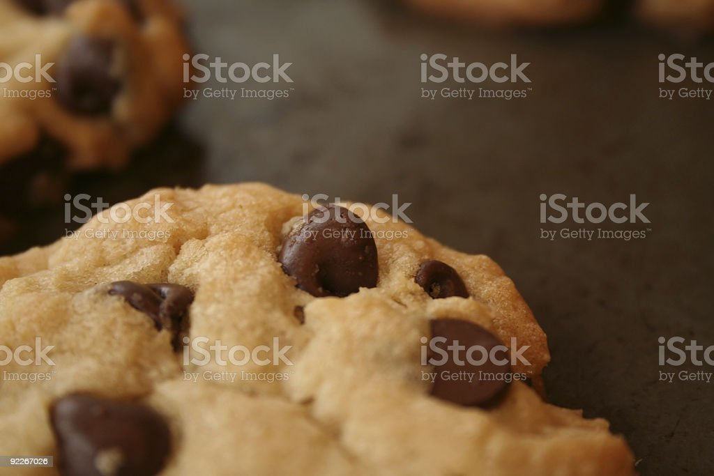 FAvorite cookie royalty-free stock photo