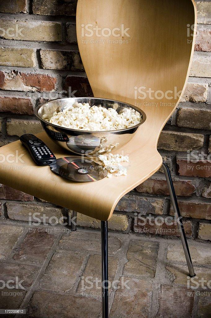 Favorite Movie Seat royalty-free stock photo