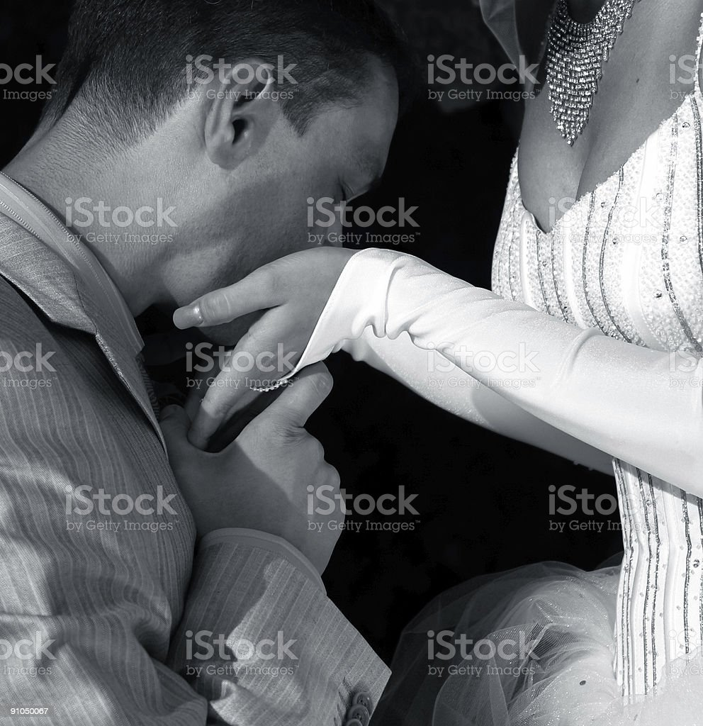 Favourite hands royalty-free stock photo
