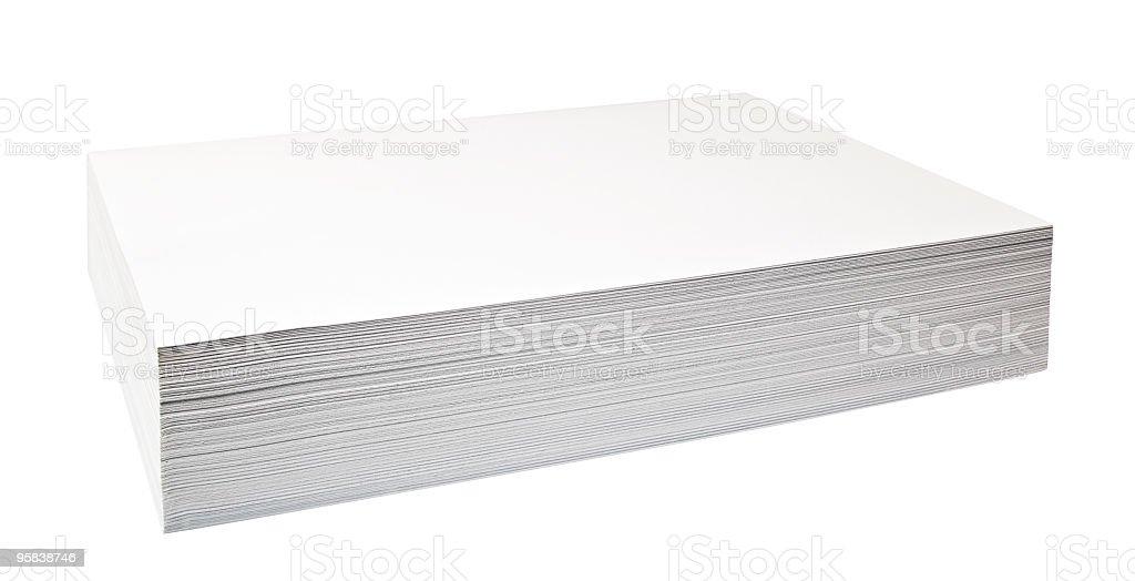fax paper stock photo