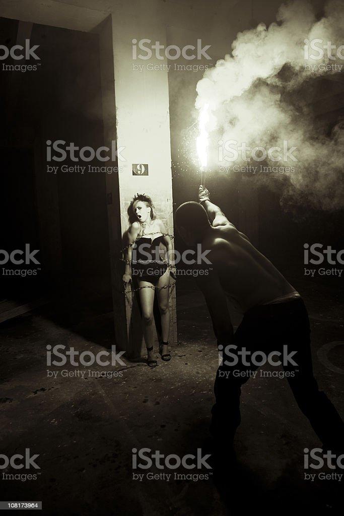 Fear - Bela Lugosi Series IV stock photo