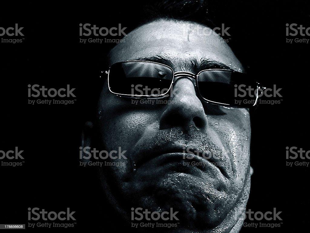 Fear Face stock photo