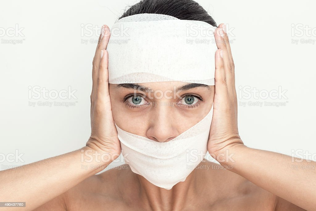 Fear Of Beauty stock photo