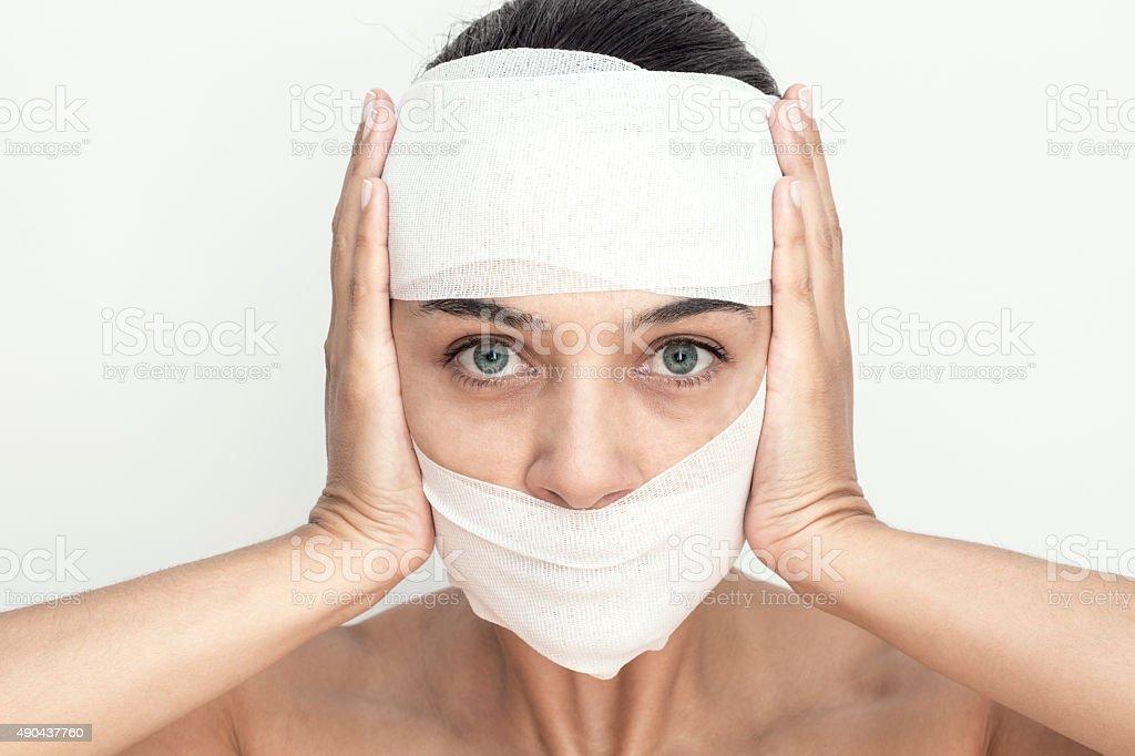 Fear Of Beauty stock photo