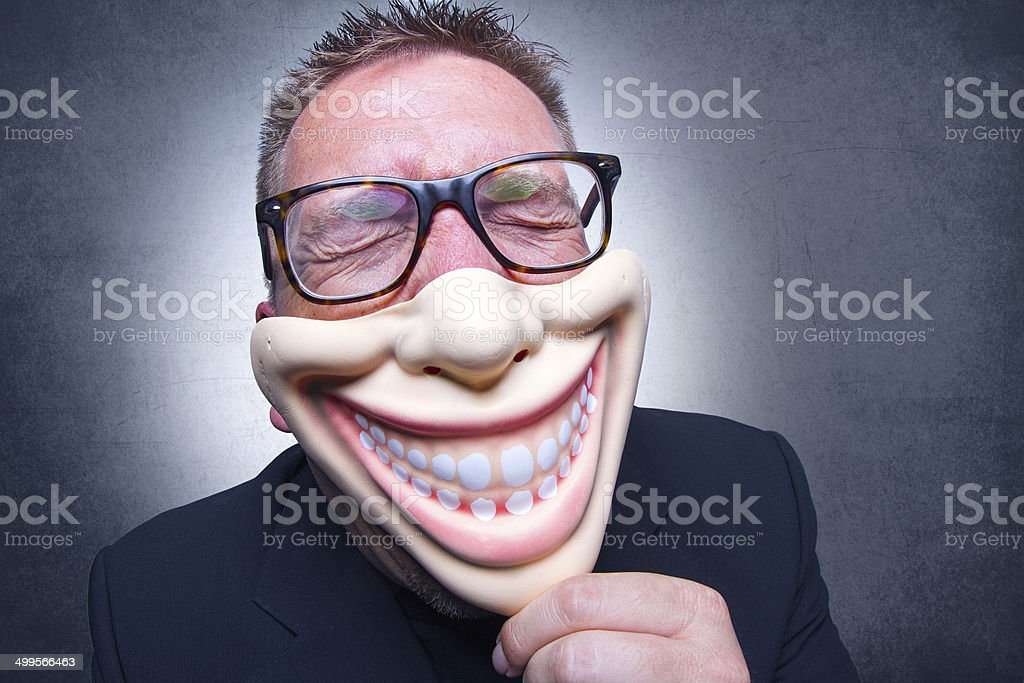 Fear or fun stock photo