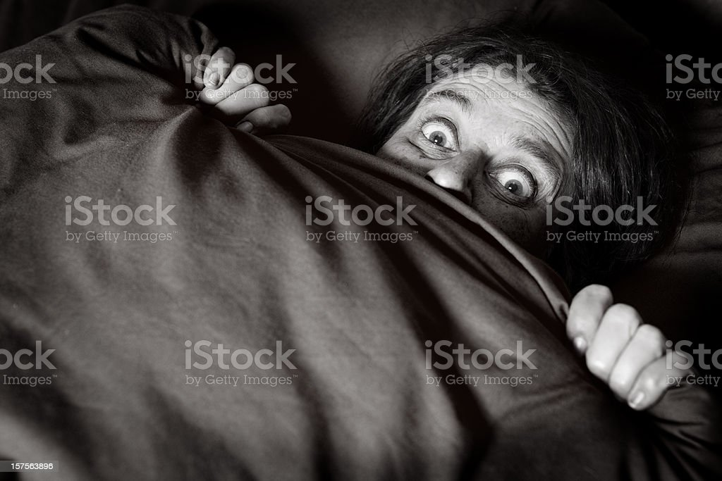 fear stock photo