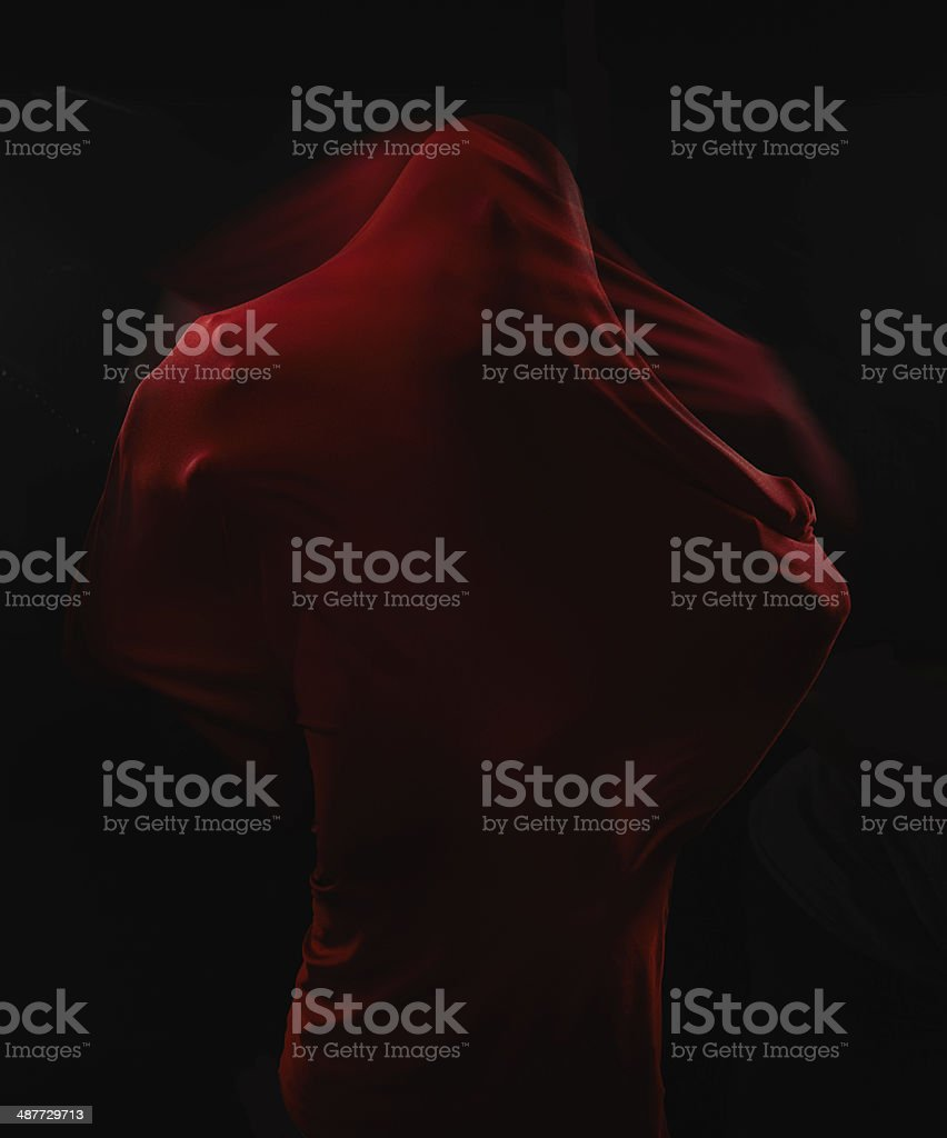 Fear takes many forms... royalty-free stock photo
