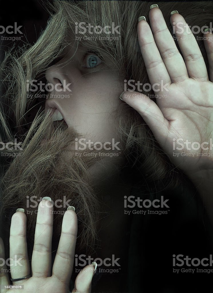Fear3 royalty-free stock photo