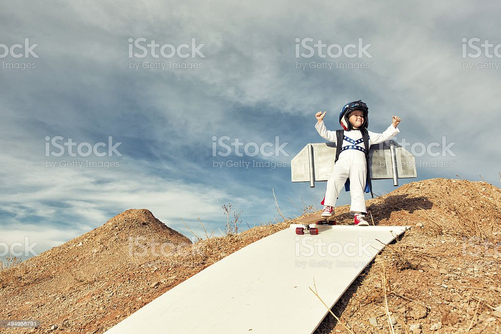 Fearless stock photo