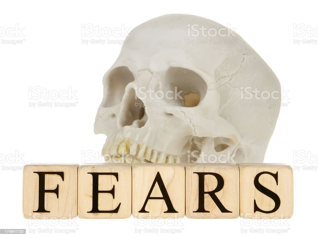 Fears royalty-free stock photo