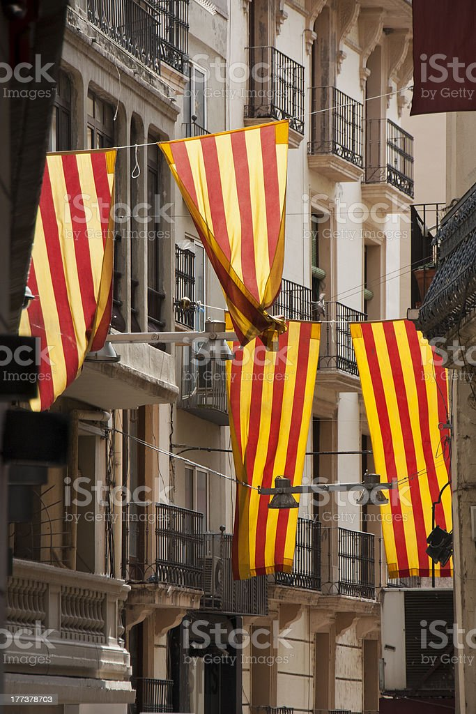 Feast day in Lleida, Catalunya. royalty-free stock photo