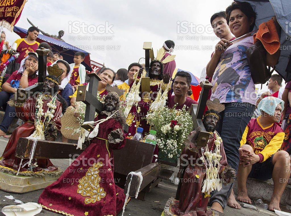 "Feast of ""Black Nazarene"" royalty-free stock photo"