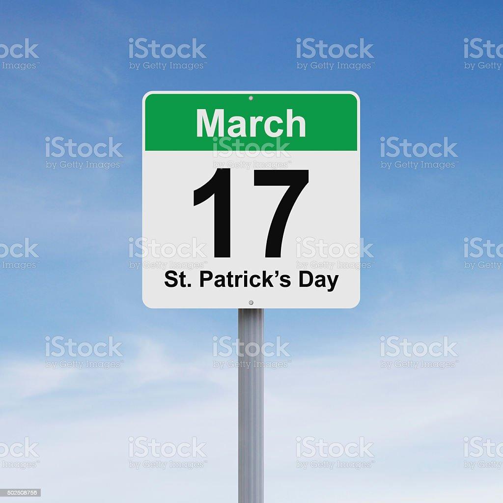Feast of Saint Patrick stock photo