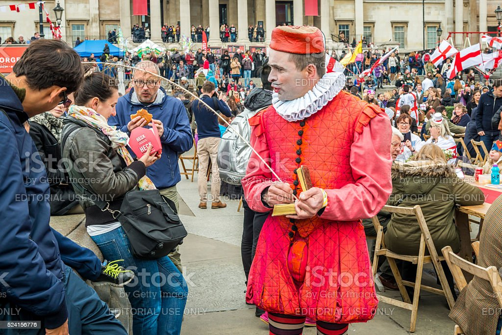 Feast of St Georges festival stock photo