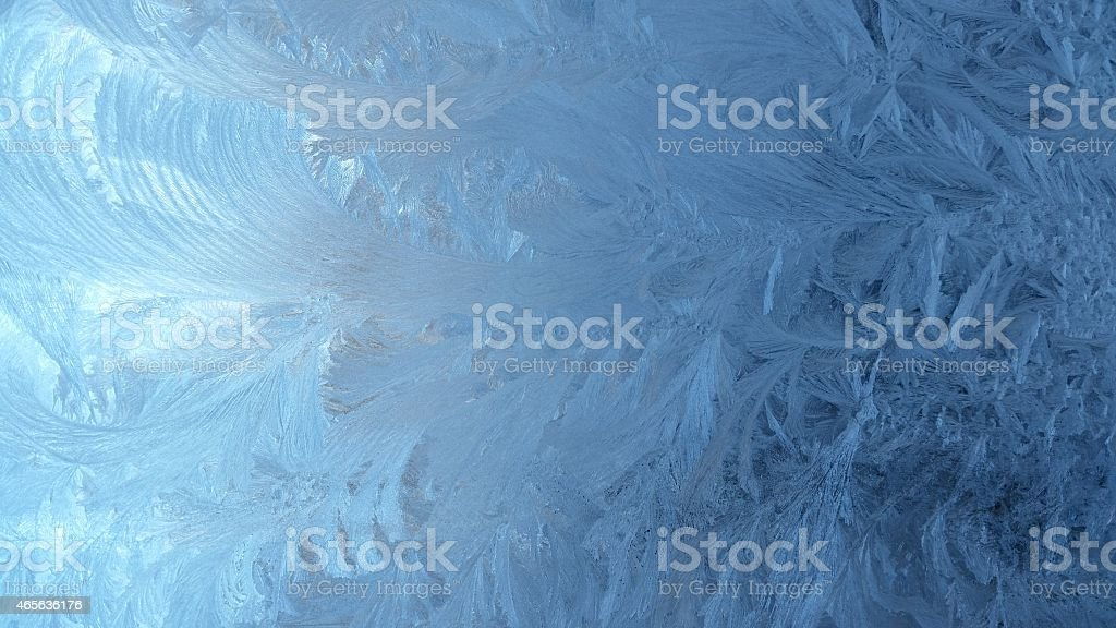 Plumes de glace photo libre de droits