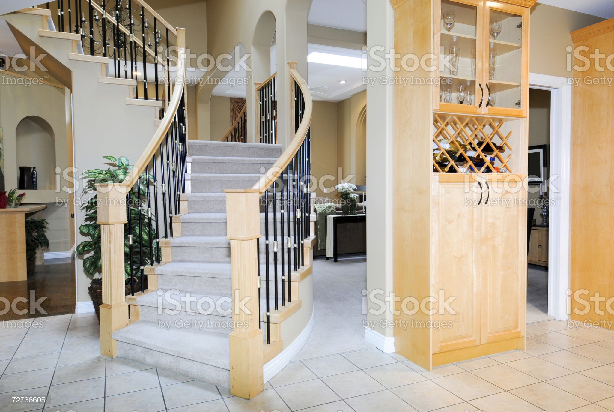 Feature Staircase royalty-free stock photo